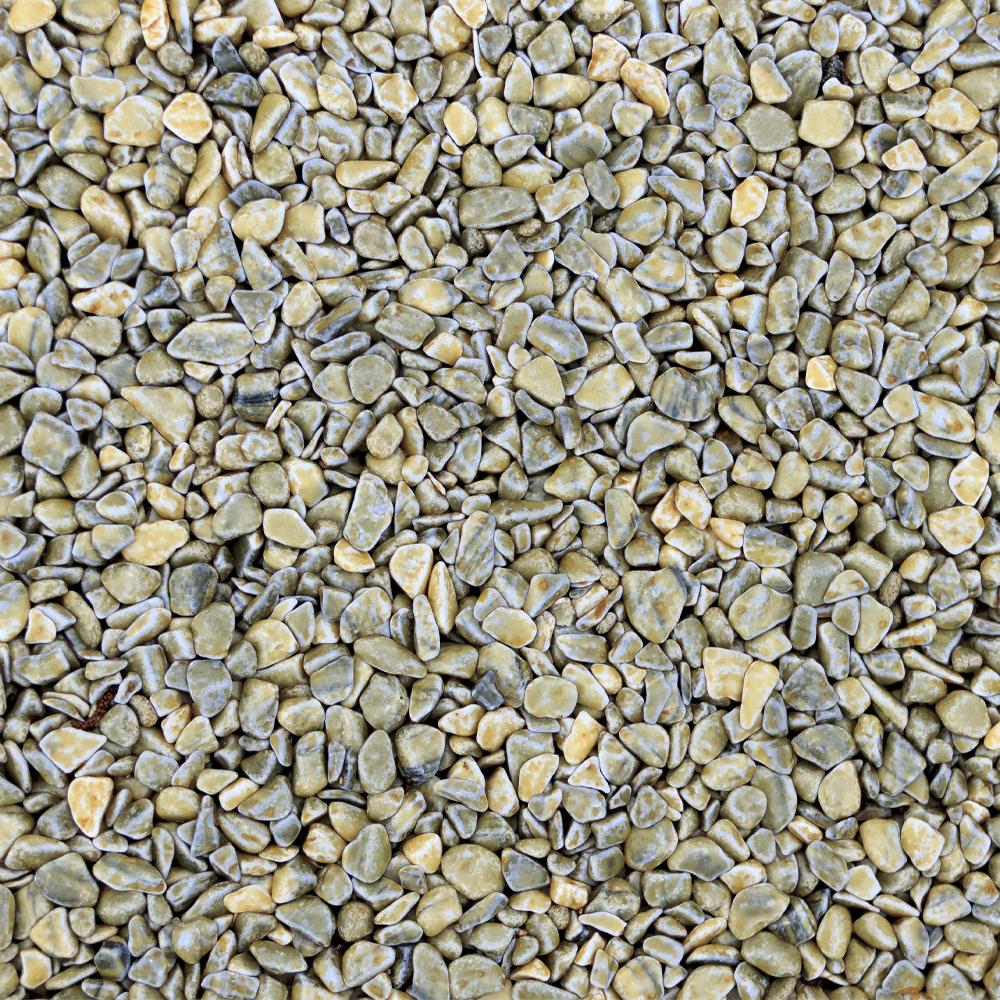 Голубая галтованная галька 5-20 мм